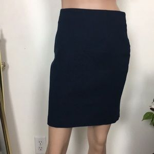 NWT Banana Republic Cotton Blend Fitted Skirt